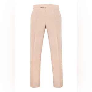 Beige Mohair Grosvenor Trousers