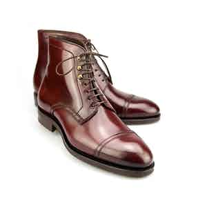 Burgundy Cordovan Leather Jumper Boot