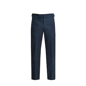 Dark Blue Winter Cotton Trouser