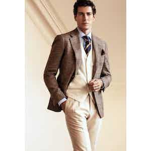 Cream Moleskin Trousers