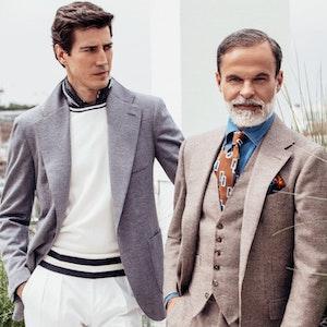 Grey Wool Jersey Jacket