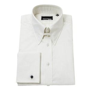 Cream Tab Collar Shirt