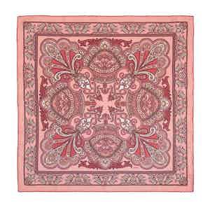 Pink Pellestrina Silk Pocket Square