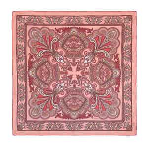 Pink Pellestrina Silk Pocket Square