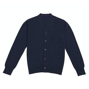 Dark Navy Cashmere Cardigan