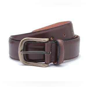 Tan Nappa Leather Belt