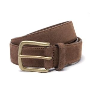 Light Brown Suede Belt