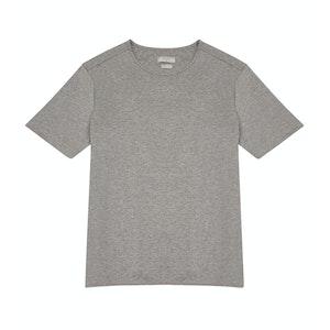 Grey Cotton Jersey Alaric T-Shirt