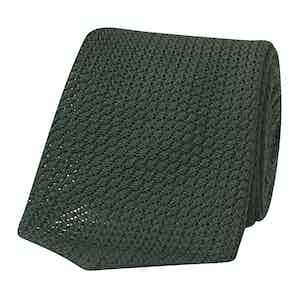 Green Grenadine Handmade Tie