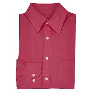 Fuchsia Linen Shirt