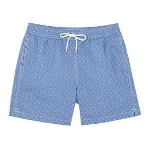 Blue and Navy Swim Shorts