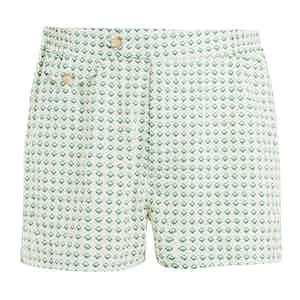 Green Shell Swim Shorts
