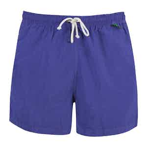 Purple Shell Swim Shorts
