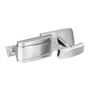 Rhodium-Plated Rectangle Cufflinks