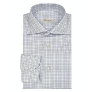 Light Blue Twill Galles Shirt