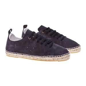 Indigo Suede Hampton Sneakers