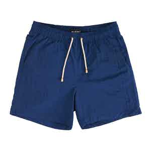 Deep Blue Hamptons Swim Shorts