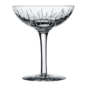 Crystal Trafalgar Champagne Coupe