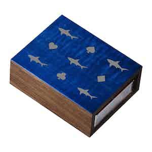 Blue Walnut Card Shark Card-Sleeve