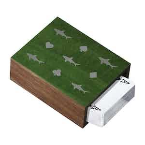 Green Walnut Card Shark Card-Sleeve