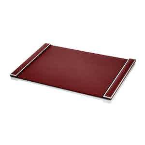 Burgundy Mayfair Desk Blotter