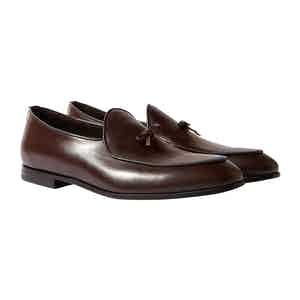 Brown Leather Henri Loafers
