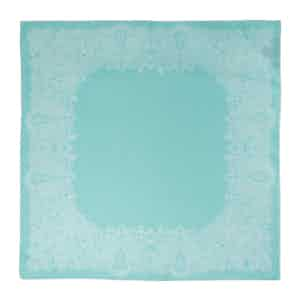 Turquoise Sea Urchin Silk Pocket Square
