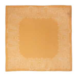 Golden-Yellow Sea Star Silk Pocket Square
