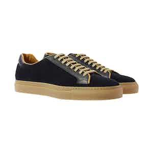 Blue Suede Ugo Sneakers