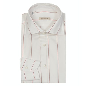 Red-Striped Cotton BL Archive Shirt