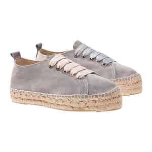 Grey Suede Andy Csinger X Manebí Hamptons Sneakers