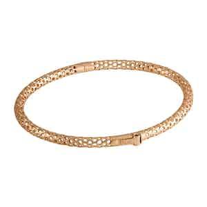 Esagoni Hexagonal 18k Rose Gold Bracelet