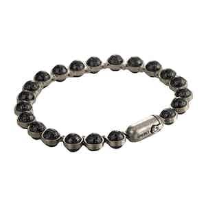 Carbon and Grey Minisphera Titanium Bracelet