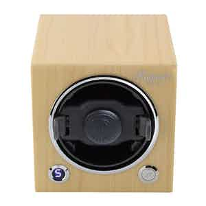 Natural Maple Evo Cubic Watch Winder