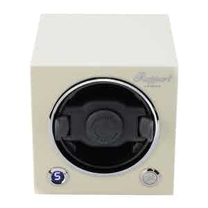 Polar White Wood Evo Cubic Watch Winder