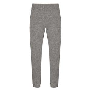 Grey Cashmere Jogging Bottoms