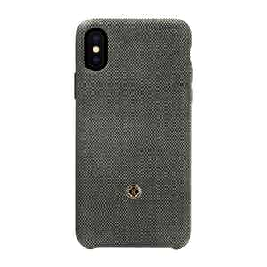 Rock Grey Bird's Eye Knit Wool iPhone X/Xs Case