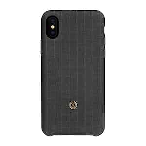 Legendary Grey Pinstripe Wool iPhone X/Xs Case