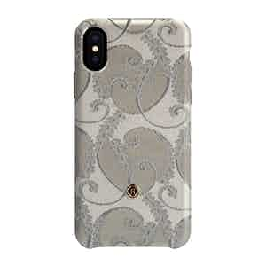 Silver of Florence Silk iPhone X/Xs Case