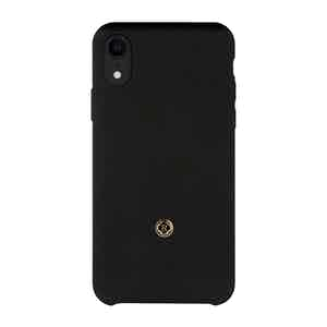 Onyx Black Wool iPhone Xr Case