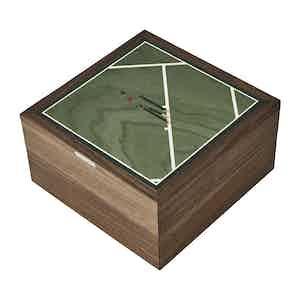 Green Walnut Cricket Trinket Box