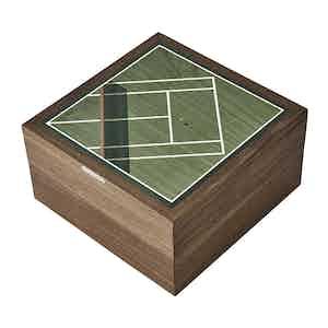 Green Walnut Tennis Trinket Box