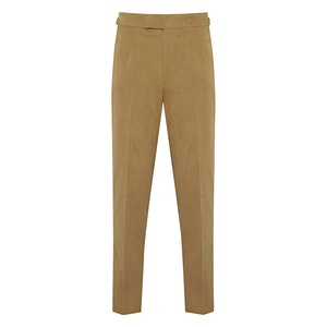 Taupe Soft Cotton Style One Trousers