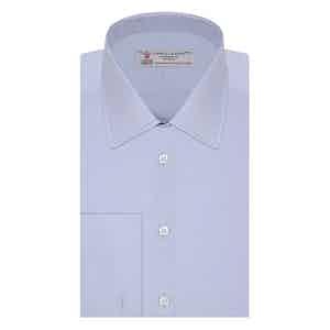 Blue West Indian Sea Island Quality Cotton Shirt