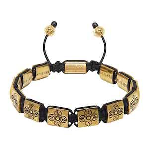 Gold Dorje Beaded Bracelet
