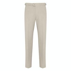 Beige Heavy Cotton Trousers