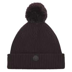 Fudge Cashmere-Merino Classic Pom Hat