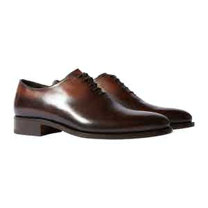 Brown Calfskin Gianluca Oxfords