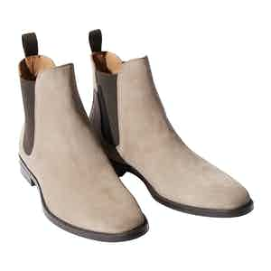 Taupe Suede Giacomo Chelsea Boots