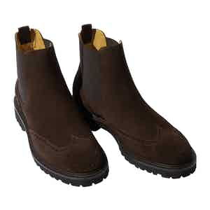 Brown Suede Keith Chelsea Boots